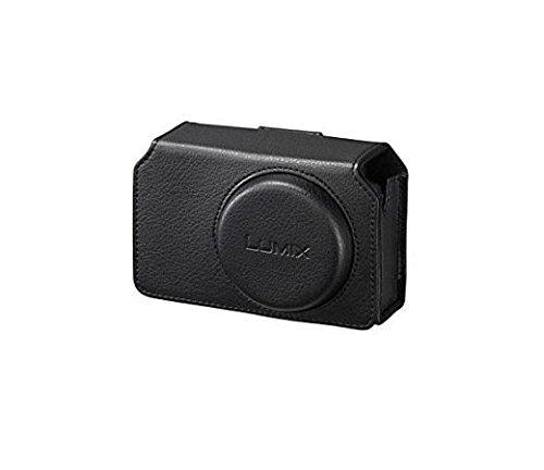 Picsio Panasonic Étui en Cuir pour Appareil TZ70 Noir