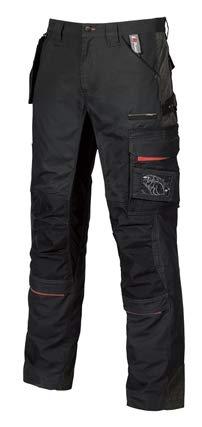 Upower pantaloni rimovibile con tasca sulla coscia, 46, 1