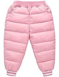 PAUBOLI Pantalones de Nieve Ligeros y cálidos para bebé de la Marca 1-7T