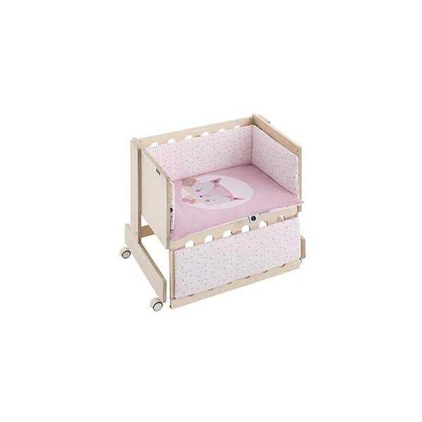 Bimbi Mini Cot Bimbi Casual baby bedroom. Cot bedroom. Natural mini bedspread 7