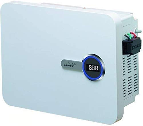 V-Guard VIG 400 Specially Designed for Inverter AC Upto 1.5 ton [170v-280v] Voltage Stabiliser