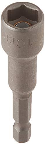 2PCS Metallic 65mm Lange Schraubendreher 10mm Breite Magnetic Innensechskant Bit - Metallic Sockel