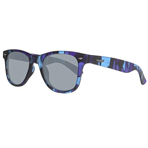 Polaroid Unisex-Erwachsene PLD6009/S-M-PRK Sonnenbrille, Blau (Blue Camu), 50