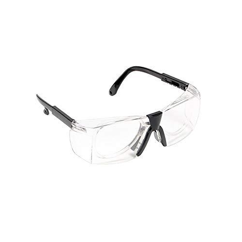 SUPERLOVE Transparente Anti Fog Brille,Spritzwassergeschützte Sandgeschützte Labor Arbeitsschutzbrille Für Outdoor Aktivitäten