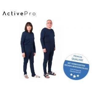 Pflegeoverall für Frauen und Männer; slim lang mit Bein- und Rückenreißverschluss; Demenz Overall; ActivePro