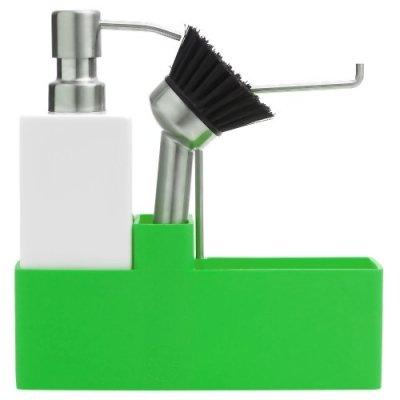 Zone Denmark-Set per lavare stoviglie Confetti, 3pezzi, verde mela