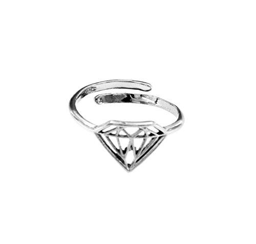 Padre Nostro - Anello forma di diamante