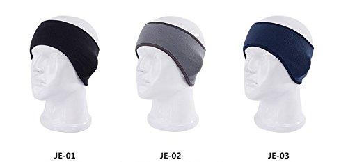 lavillede Universal Damen und Herren Ohr Stirnband Warm Winter Fleece Ski Ohrenschützer Dum Elastic Stretch Spandex Haar Band Zubehör - Thermische Spandex