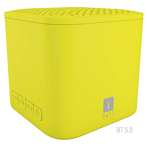 iBall MusiPlay A1 Wireless Ultra-Portable Bluetooth Speakers (Yellow)