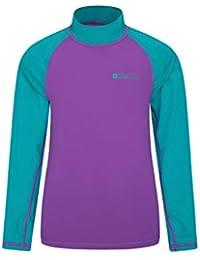 b2a76e2f7 Mountain Warehouse Camiseta térmica para niños - Camiseta térmica con  protección UV