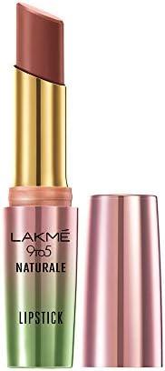 Lakme 9to5 Naturale Matte Lipstick, Honey Love, 3.6 g