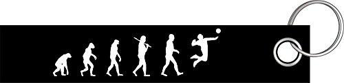 Shirtzshop FAUSTBALL Volleyball Evolution Schlüsselanhänger Schlüsselband Keyholder Lanyard