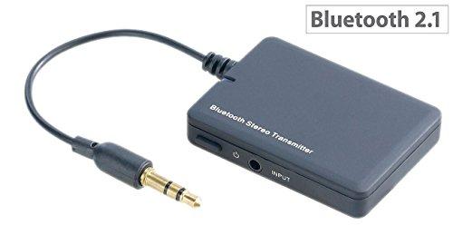 auvisio Audio Bluetooth: Musik-Transmitter MT-80.a mit Bluetooth & Akku (Audio Sender, Bluetooth)