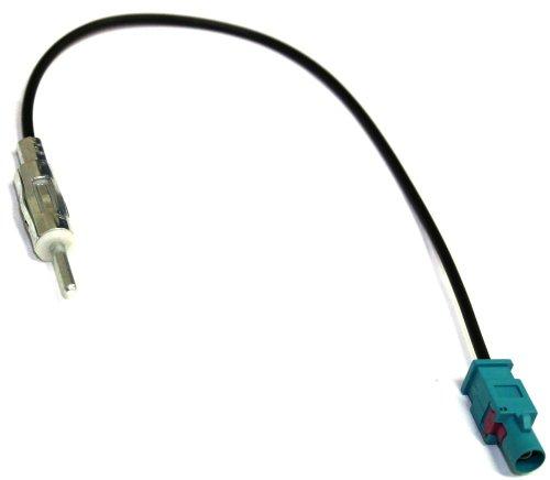 Aerzetix - FAKRA ISO DIN-Adapter für VW Audi Citroen Fiat Opel