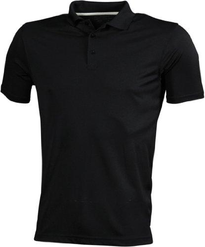 James & Nicholson - Poloshirt High Performance mit UV-Schutz Black