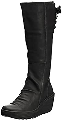 Fly London Yust Touch, Women's Boots, Black,2.5 UK (35 EU)