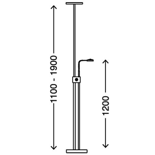 Briloner Leuchten LED Stehleuchte - 5