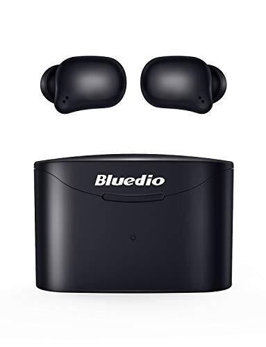 Bluedio Bluetooth Kopfhörer, T Elf 2 Kabellose Kopfhörer in Ear Sport Kabellose Ohrhörer Bluetooth 5.0 Headset Wireless Earbuds mit Mikrofon,Touch-Control,HD Stereo Sound,Ladebox,35 Stunden Spielzeit