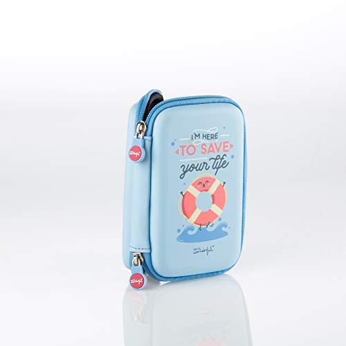 "Preisvergleich Produktbild Hard drive case Mr. Wonderful Save Your Life 2, 5"" Blue"