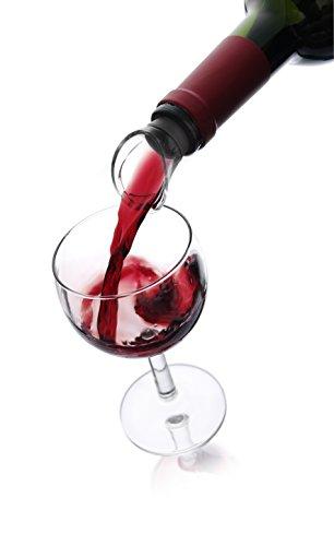 Vacu Vin 18540612 Weinausgießer 2er Set schwarz