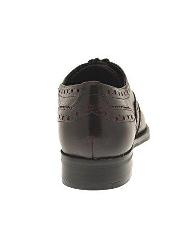 Dezotti Rosso L5201x Picado Borgogna Adele Blucher Cordone B08xndPf
