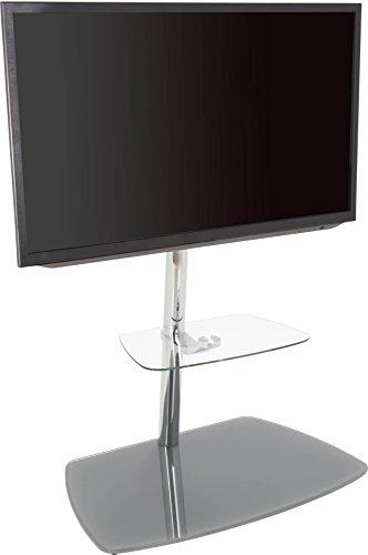 AVF 39078Iseo Freitragende TV-Ständer für bis zu 70TVS, transparent/Silber Avf-tv