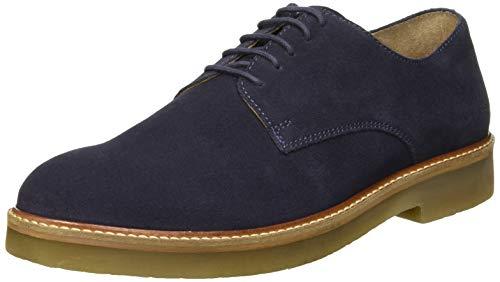 Kickers Oxfork, Zapatos Cordones Derby Hombre, Azul