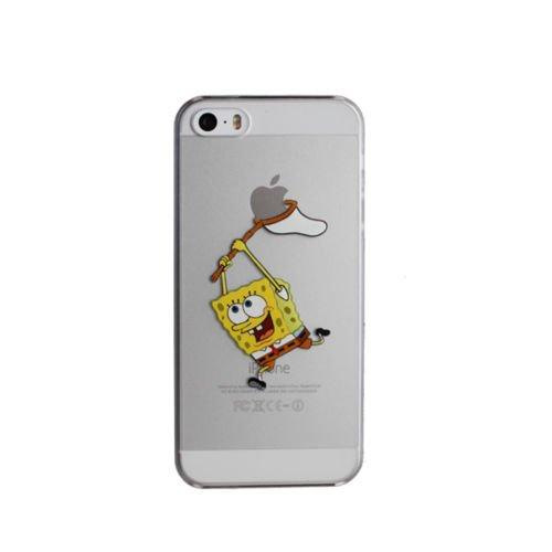 Neuf Disney Cartoons Coque TPU souple transparente pour Apple iPhone 7et 7Plus, plastique, Olaf, Apple iPhone 7 SpongeBob
