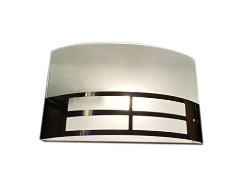 Handicraft Kottage Geomatric Up Light Wall Lamp (15 cm, Shining Steel...