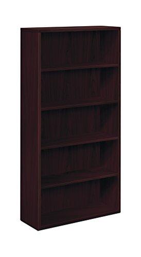 Hon 10500Serie Bücherregal mit 38,1 5 Regale 5-Shelf Mahagoni -