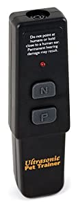 PetSafe Système de Dressage à Ultrasons pour Chien et Chat Sans Collier, Télécommande de Dressage à distance pour Chien - 10 m