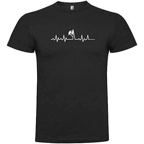 Camiseta Montañismo Climbing Heartbeat Manga Corta