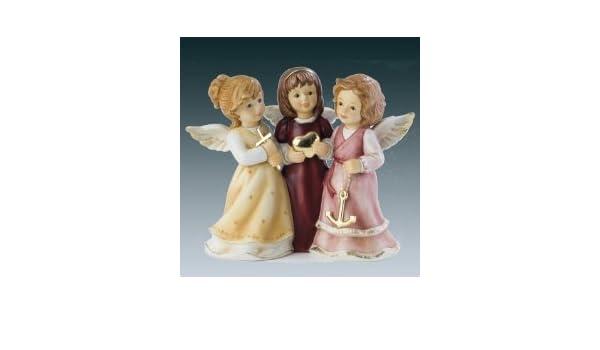 Goebel Weihnachten Ich Glaube An Dich Weihnachtsfigur Porzellan Bordeaux 8 cm