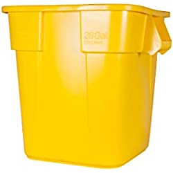 Rubbermaid 106L BRUTE Square Container - Yellow