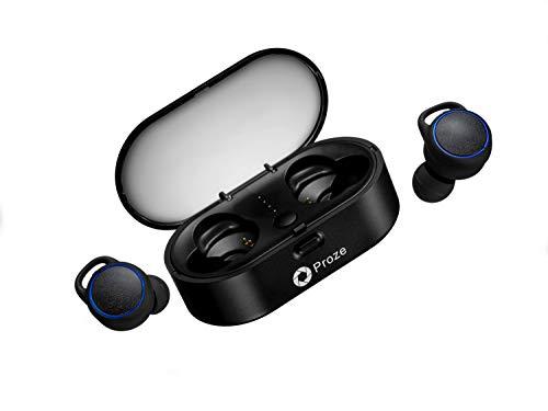 Cuffie Bluetooth 5.0 Proze TWS-02 Auricolari Sans Fil con Microfono  Assistente Vocale Custodia di f25ab6c879ae