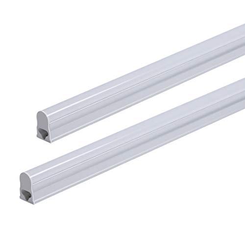 LED-Leuchtröhre T5 für Unterschrank, 9W, 3200K, warmweiß, 60cm, ultra-schmal, effektiver energiesparender Ersatz für fluoreszierende Beleuchtung Modern 1 Stück