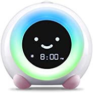 LittleHippo Mella Ready to Rise Children's Trainer, Alarm Clock, Night Light Sleep Sounds Mac