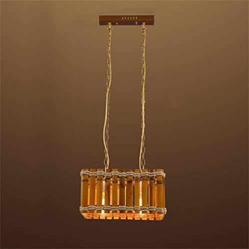 Kronleuchter Metall, mit Glas