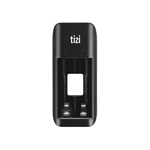 equinux Neu Tizi LAADAAA - USB Akku-Ladegerät für 2X AA Mignon/AAA Micro (NI-Mh, NI-CD, Wiederaufladbare Batterien) per Micro-USB Laden, Leicht & Kompakt, Batterieladegerät 2 X Akku Usb