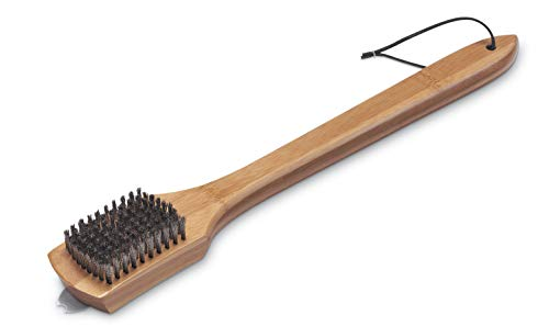 Weber 6464 Grillbürste mit Bambus-Holzgriff, 46 cm