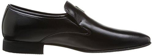 Pierre Cardin Curling, Chaussures de ville homme Noir (Nappa Noir)