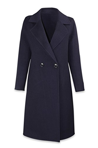 Well Knitting Damen Mantel Mehrfarbig Mehrfarbig Gr. 50, Mehrfarbig - Navy