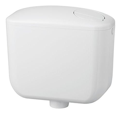 Negrari 1000S2 Sfera 2 Cassetta WC a Zaino, ABS, capacità 9 Litri, Bianco