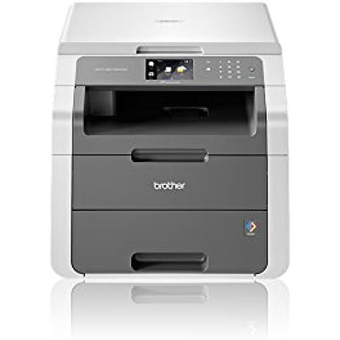 Brother DCP-9015CDW multifuncional - Impresora multifunción (LED, Color, Color, 18 ppm, 2400 x 600 DPI, 18