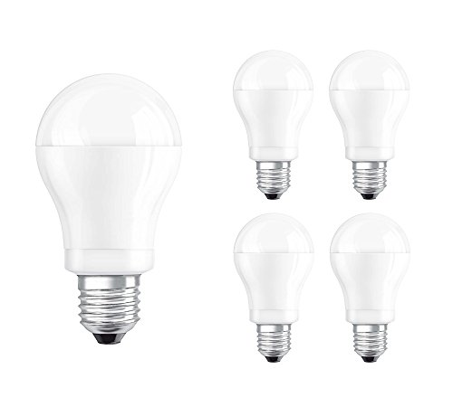 4x Osram LED Parathom Classic A 25 LED Lampe 4W=25W Birne 250lm Warmweiß Leuchtmittel 4052899911710 2700 Kelvin [Energieklasse: A+]