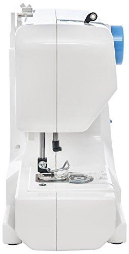 Blaupunkt Smart 625 Freiarm- Nähmaschine mit 11 Nähprogrammen, regelbarer Oberfadenspannung, Rückwärtsnähtaste, Aufspulautomatik und wartungsfreiem LED- Nählicht für blendfreies Nähen - 2