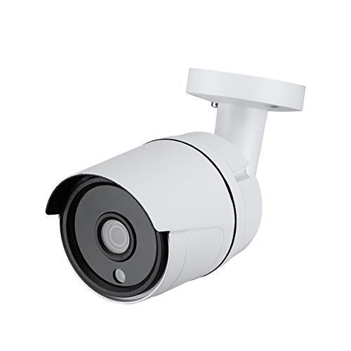 Cámara IP PoE, 1.3 megapíxeles 960p HD, Fuente de alimentación PoE (IEEE802.3af) o DC12V, IR Bullet día/Noche, IP66 para Interiores y Exteriores.