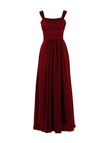 YiYaDawn -  Vestito  - Donna rosso vivo