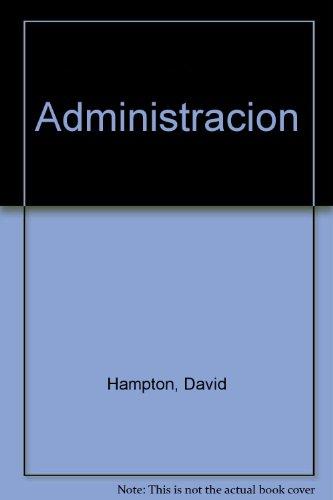 Descargar Libro Administracion de David Hampton