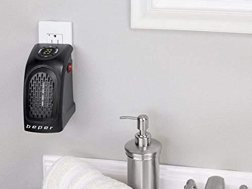 lgvshopping Mini Calefactor 350W Pocket Heater Estufa Cálido baño caldobagno Salvaspazio